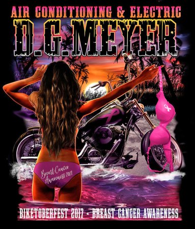 Biketoberfest 2017 Breast Cqancer Awareness
