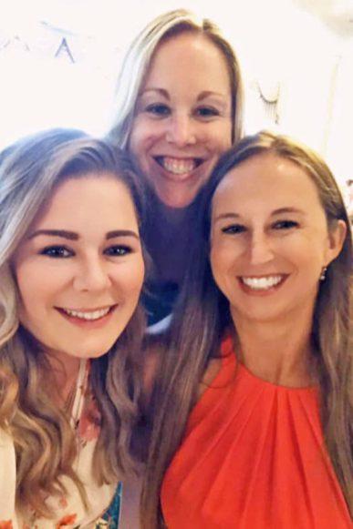 Megan, Heather and Brianna
