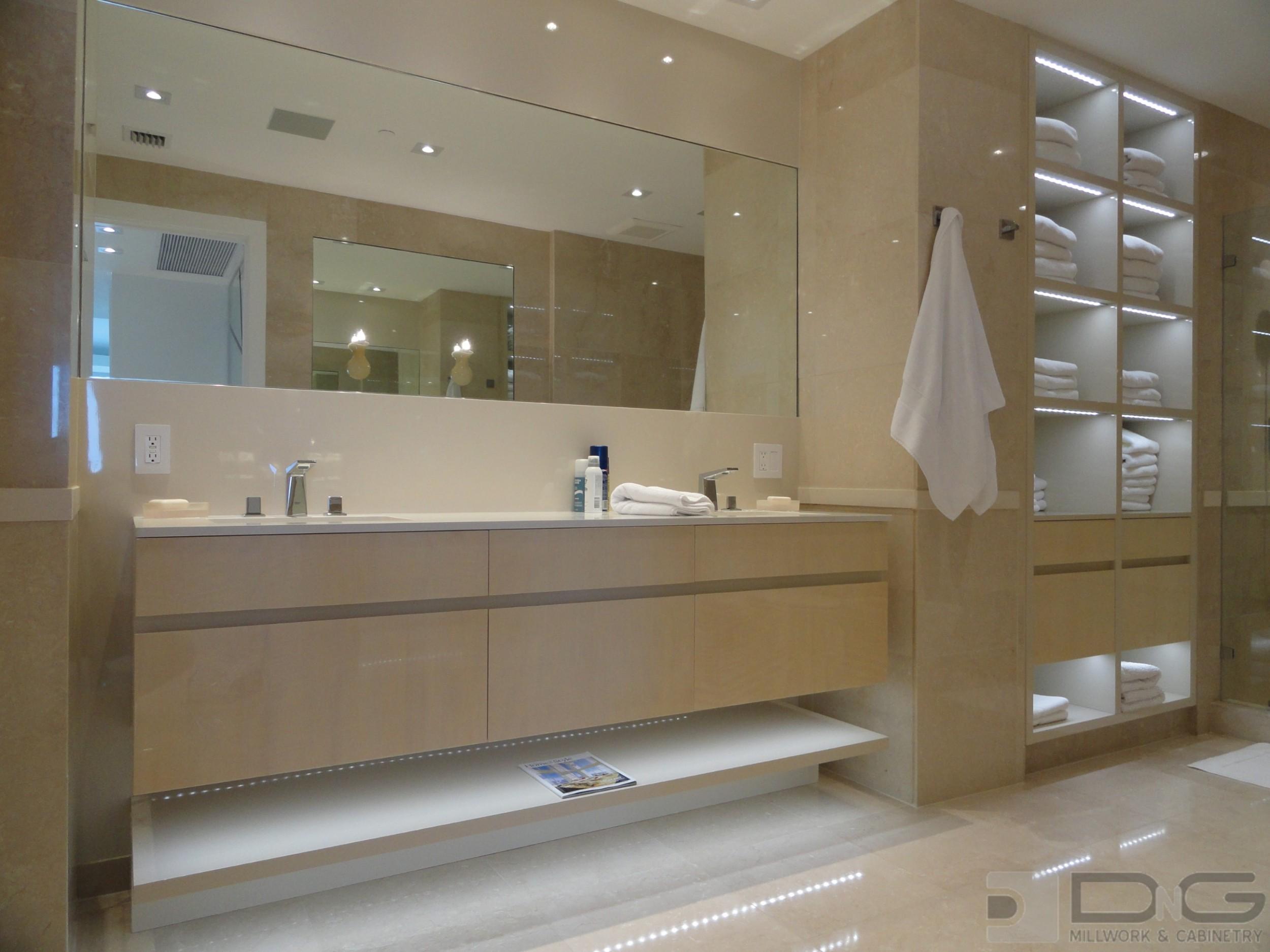 Best Kitchen Gallery: Custom Bathroom Cabi S Modern Minimalist Bathroom Custom Cabi S of Custom Bathroom Design  on rachelxblog.com