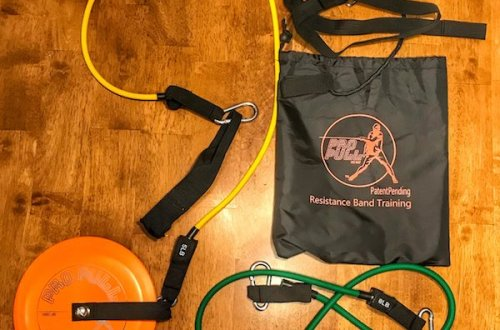 ProPull Disc Golf Resistance Band Training
