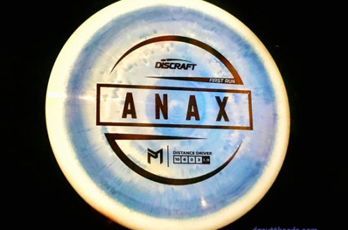 Discraft Paul McBeth Anax Review