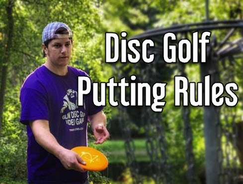 disc golf putting rules regulations