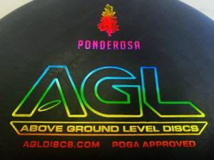 AGL Discs Ponderosa putter stamp