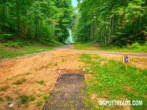 Boyne Mountain disc golf course hole 11
