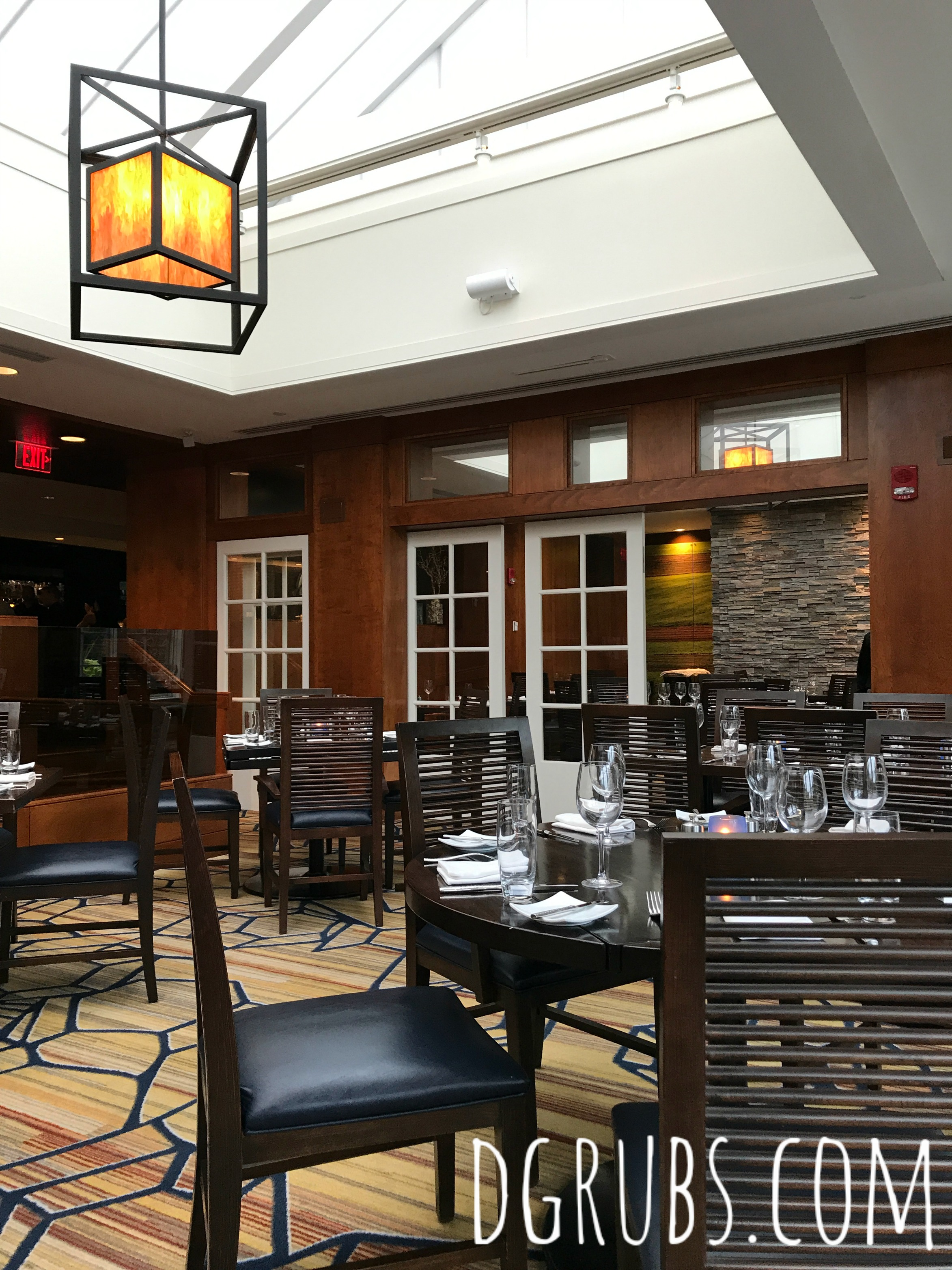 A little bit about a lot of things page 9 of 142 a lifestyle we headed back to the hotel for dinner at their signature restaurant chopps american bar and grill the restaurant is cozy and dim in the front area by the izmirmasajfo