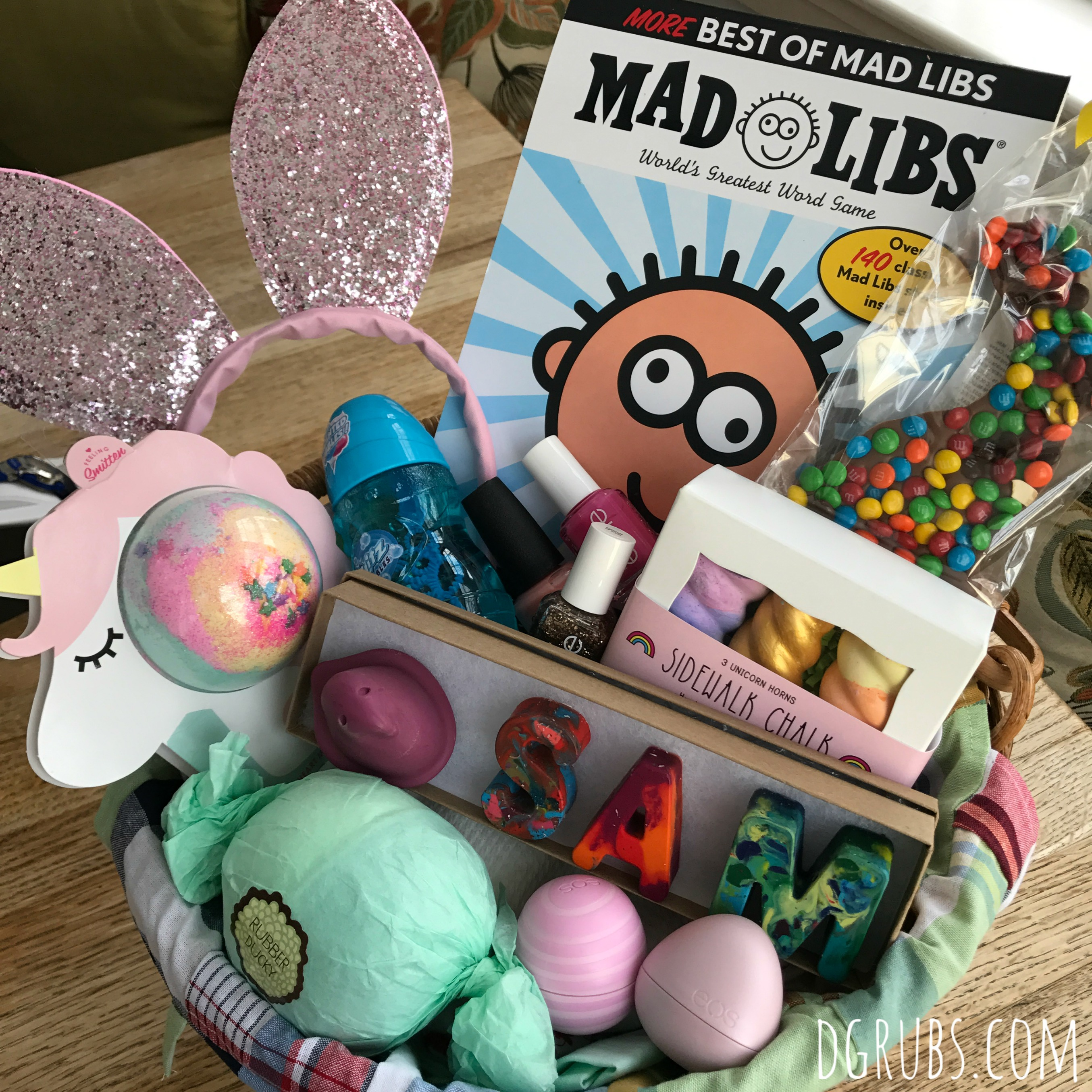 Easter 2018 a little bit about a lot of things a little bit for my second basket again i used a pottery barn small easter basket with a madras lining i love the prints and look forward to using them year after negle Choice Image