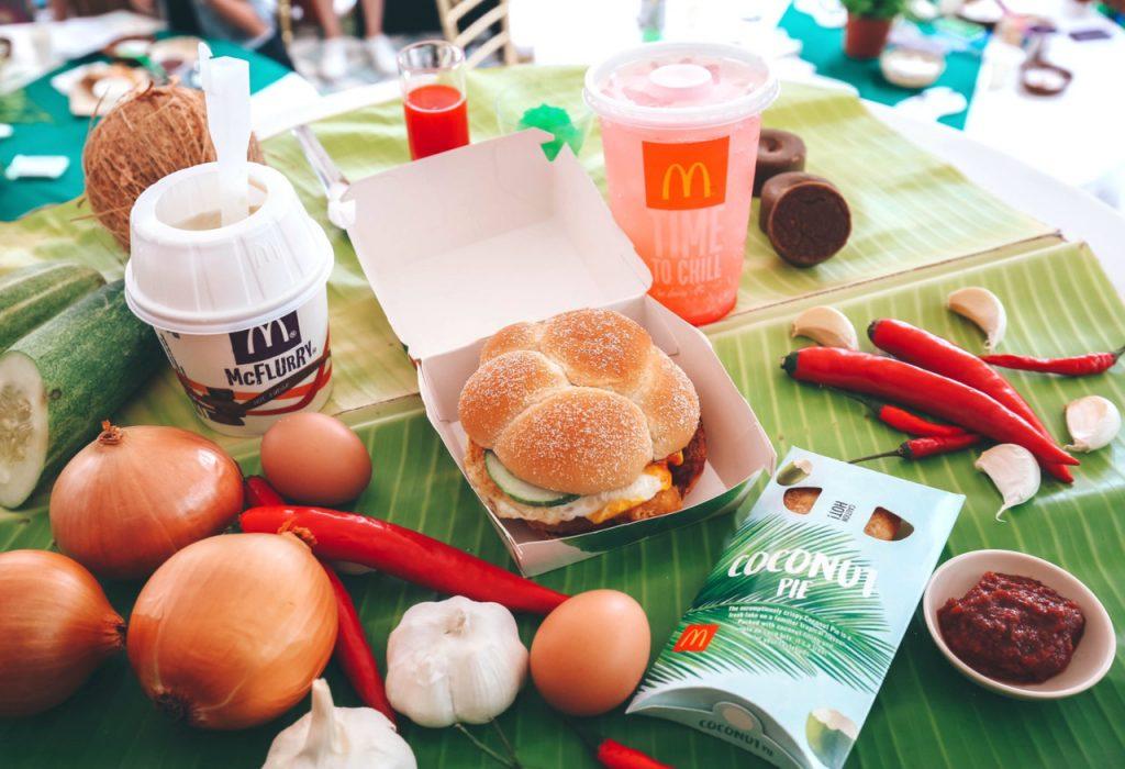 麦当劳Mcdonald's 特别推出 Nasi Lemak Burger