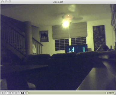 Video de la camara de seguridad desde VLC