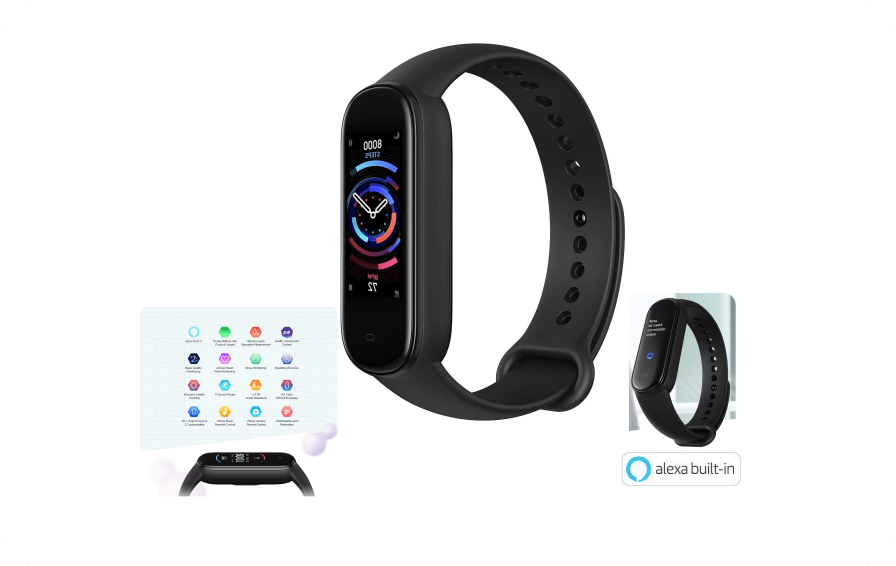 Amazfit Band 5 Smartwatch Tracker Fitness con Alexa integrato