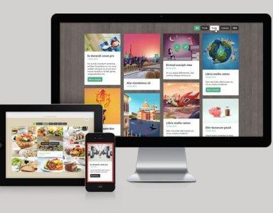 手機版網頁設計