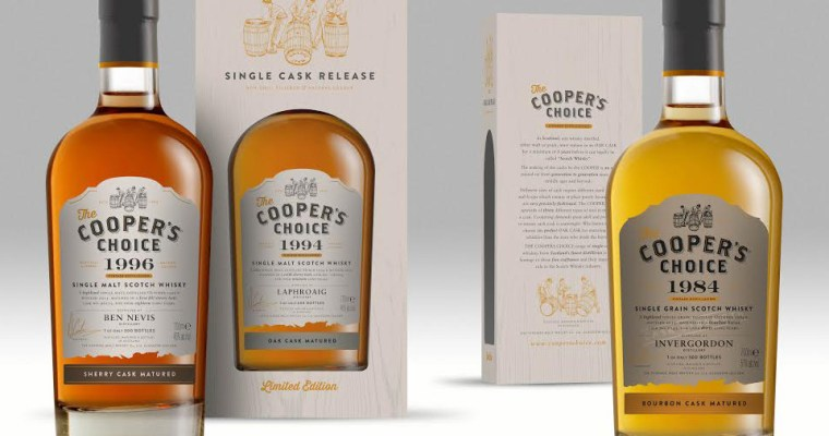 Cooper's Choice Single Malt Whisky, nieuw bij DH17!