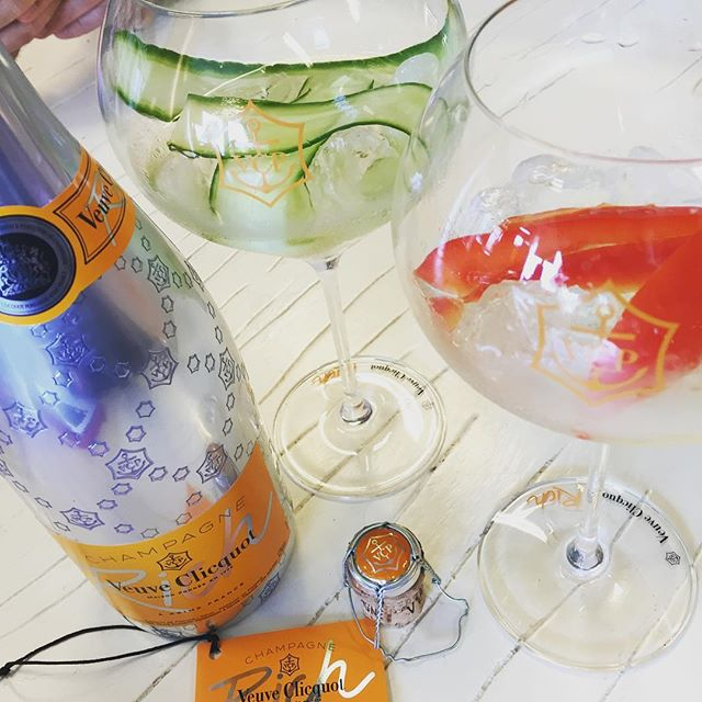 Veuve Clicquot presenteert Rich, een cocktail-champagne!