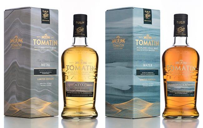 Tomatin Metal & Water complimenteren Five Virtues series!