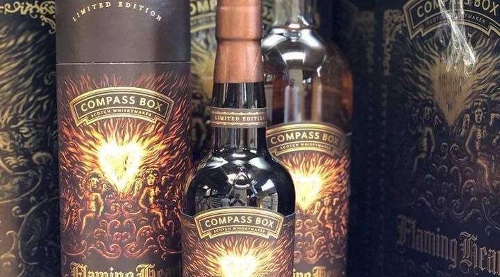 De nieuwste Flaming Heart van Compass Box
