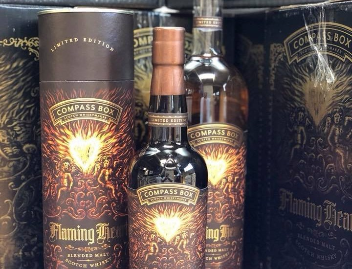 De nieuwste Flaming Heart van Compass Box