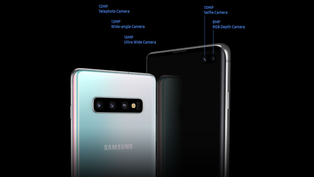 Cameras Installed In Samsung Galaxy S10:
