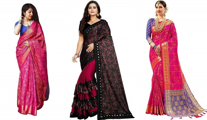 Purchase Sarees Online, Silk Sarees