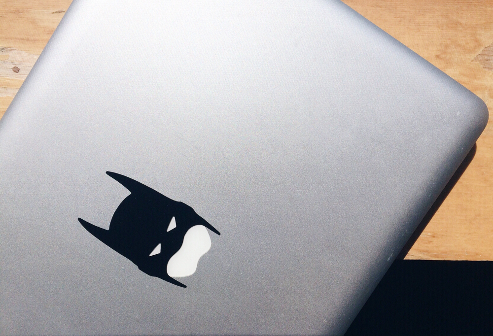 DhariLo - Batman Laptop Decal