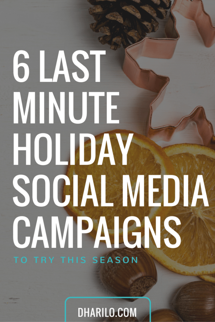 Need some holiday #socialmedia campaign ideas for your business? Here are 6!