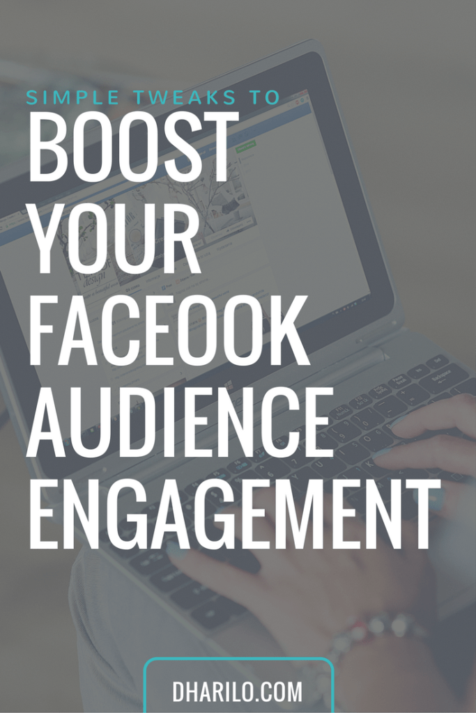 Need more interaction from your Facebook fans? Try one of these simple tweaks to increase your Facebook audience engagement