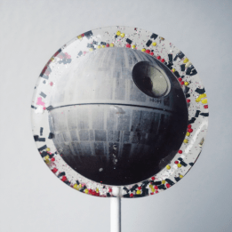 Death Star lollipop!