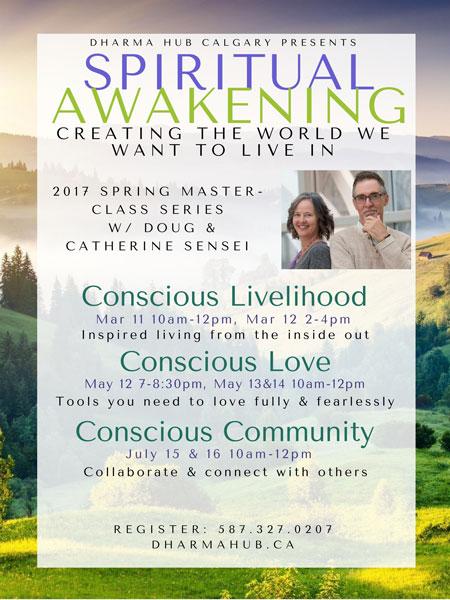 Spiritual awakening meditation classes calgary