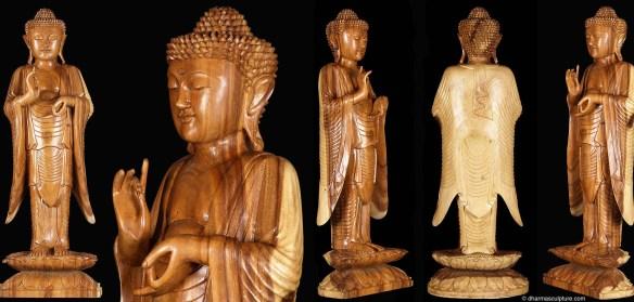 Dharmachakra Buddha Statue