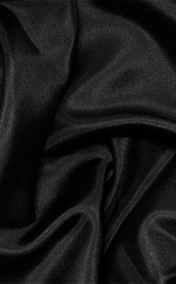 Black Silk Habotai 8mm 45