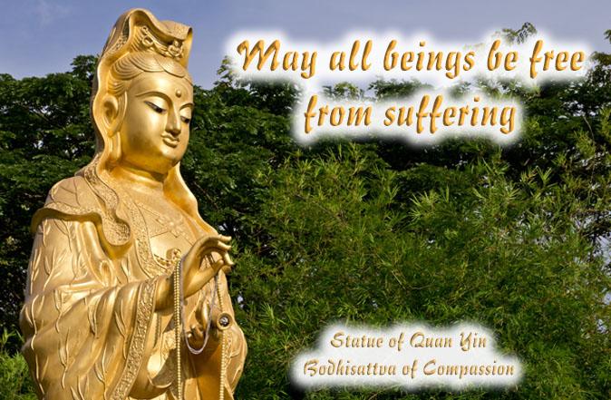 Statue of Quan Yin Bodhisattva of Compassion