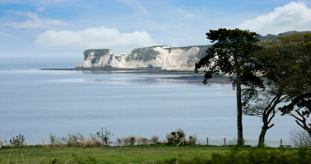 church holiday cottage in studland with stunning sea views