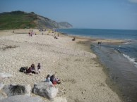 Charmouth East Beach Lyme Regis