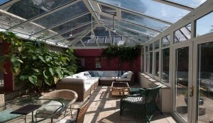 Bucknowle Lodge Luxury Accommodation In Corfe Castle Conservatory