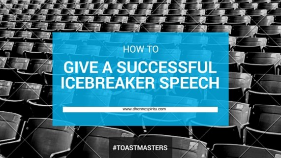 ice breaker speech