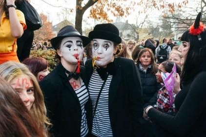 """Der Jahrgang 12 des Gymnasiums am Wall Verden feiert am 11.11.2016 den traditionellen """"Chaostag am GaW"""""""