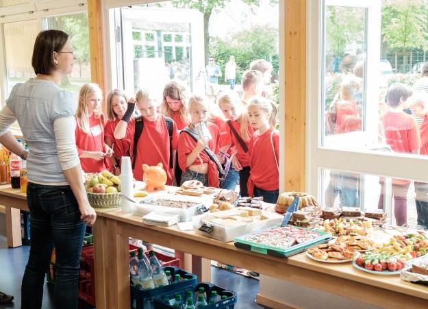 Bläserklassentag in Verden: Verkauf von Schulverein und FiT Verein am GaW