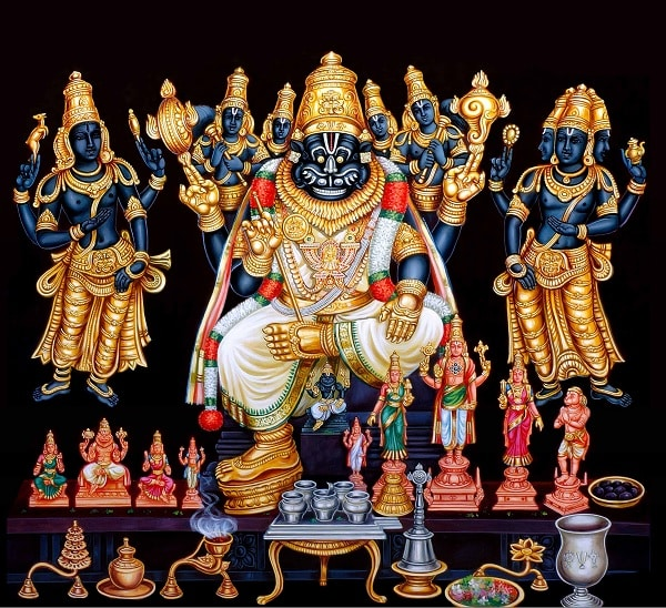 Lord Narasimha Moola Mantra - Dhevee org