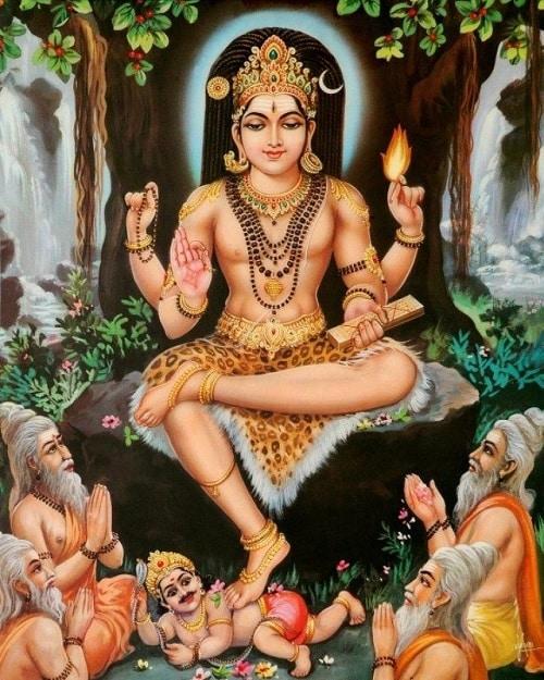 Dakshinamurthy Moola Mantra - Dhevee org