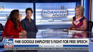 Google Employee Interview on FOX News Live - Dhillon Law Group