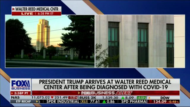 Dhillon on President Trump Testing Positive for COVID-19 and Arriving at Walter Reed Medical Center (Part 2)
