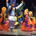 Giddha and Bhangra, Sikh folk dance competition at Punjab Public School