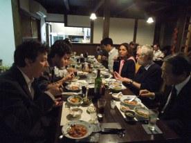 Oct. 25, 2013-Dinner at tofu restaurant
