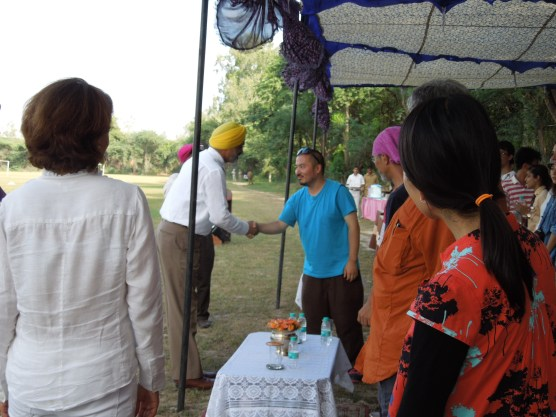 Horse riding demonstration, Punjab Public School, Nabha