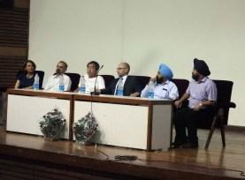 Sonia Dhillon-Marty, Karan Avtar Singh, Prof. Kengo Kuma, Ambassador Francois Richier, Dr. Ajaib Singh Brar, Prof. Dr. Sharanjit Singh Dhillon