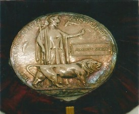 First World War 'Memorial Plaque'