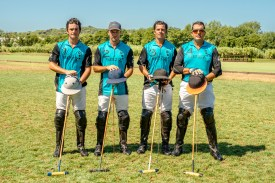 Shahe KALAIDJIAN, team SEZZ, won the second place at tha Maharaja Ranjit Singh Polo Cup 2015