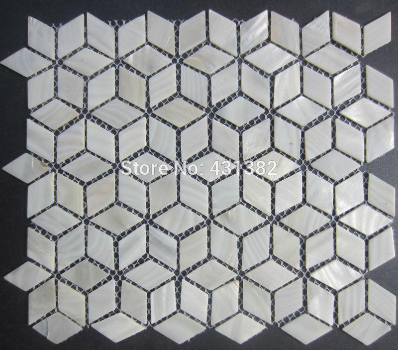 2021 rhombus shell mosaic tiles 42 24