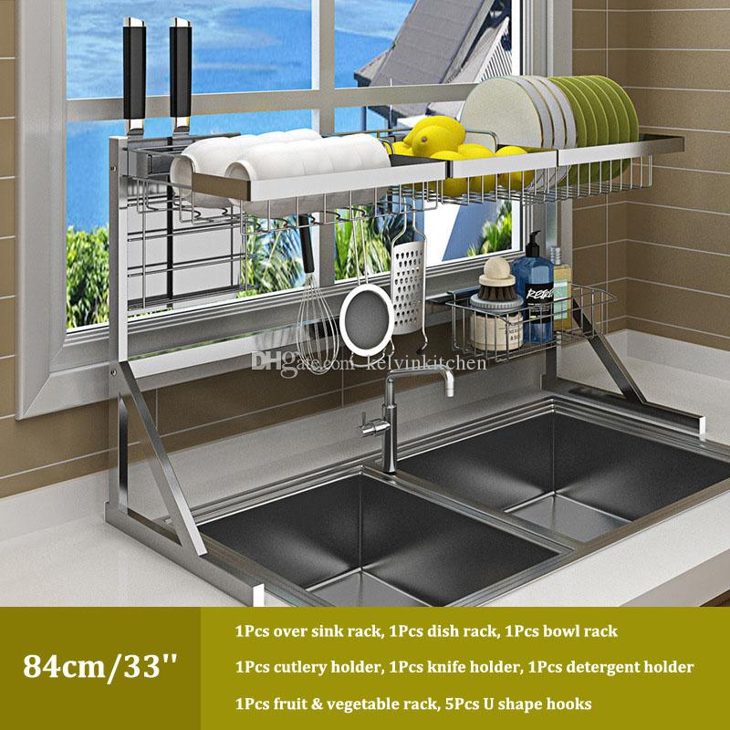 2021 over sink dish drying rack kitchen