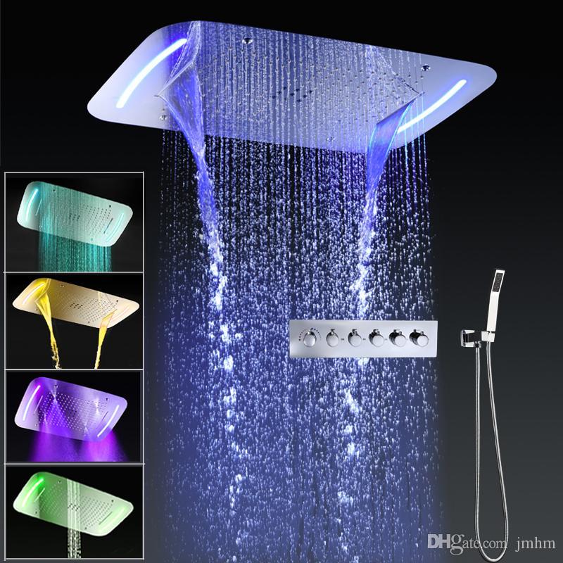 2021 bathroom rain shower faucet set