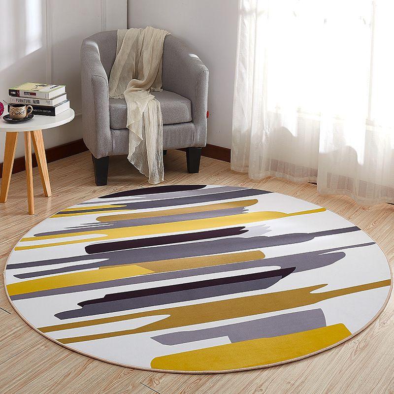 acheter tapis rond tapis tapis tapis modernes pour salon tapis tapis chambre tapis tapis de sol anti derapant tapete home textile d19011201 de 10 06