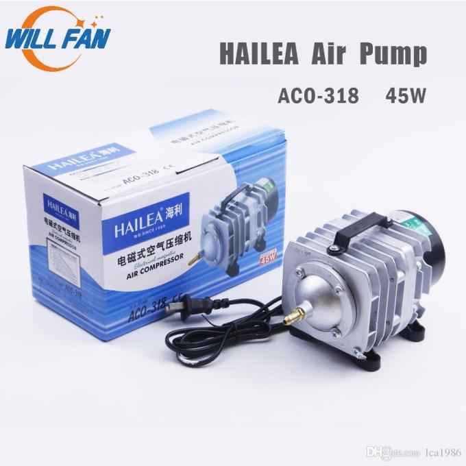 2021 Will Fan Hailea Air Pump 45w Aco 318 Electrical Magnetic Air Compressor For Laser Cutter Machine 70l Min Oxygen Pump Fish From Lca1986 27 14 Dhgate Com